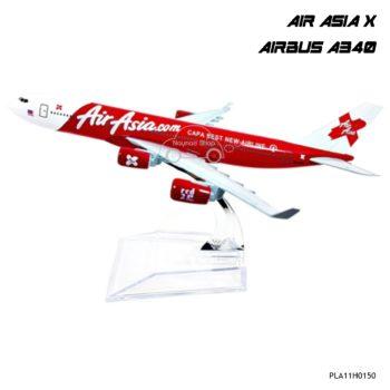 โมเดลเครื่องบิน AIR ASIA X AIRBUS A340