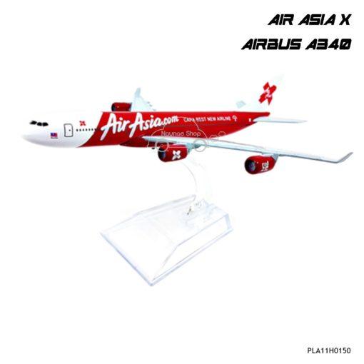 โมเดลเครื่องบิน AIR ASIA X A340 4 เครื่องยนต์
