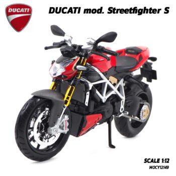โมเดลดูคาติ Ducati StreetFighter (Scale 1:12) โมเดลประกอบสำเร็จ พร้อมตั้งโชว์