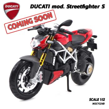 โมเดลดูคาติ Ducati StreetFighter (Scale 1:12) โมเดลเข้าใหม่