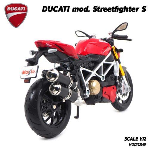 โมเดลดูคาติ Ducati StreetFighter (Scale 1:12) โมเดลประกอบสำเร็จ ผลิตโดย Maisto