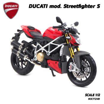 โมเดลดูคาติ Ducati StreetFighter (Scale 1:12) โมเดล Ducati ของแท้ผลิตโดยแบรนด์ Maisto