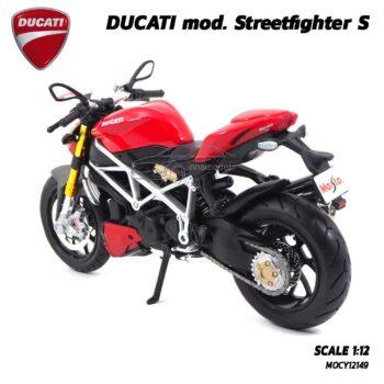 โมเดลดูคาติ Ducati StreetFighter (Scale 1:12) รถโมเดลจำลองพร้อมตั้งโชว์