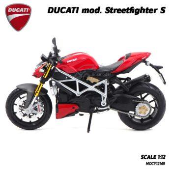 โมเดลดูคาติ Ducati StreetFighter (Scale 1:12) โมเดลมอเตอร์ไซด์ จำลองพร้อมตั้งโชว์ ของขวัญของสะสม