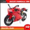 โมเดลบิ๊กไบค์ Ducati Panigale 1199 (Scale 1:12)