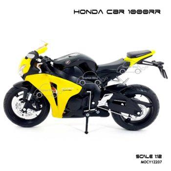 โมเดลบิ๊กไบค์ HONDA CBR 1000RR สีเหลืองดำ (Scale 1:12) สวยๆ น่าสะสม