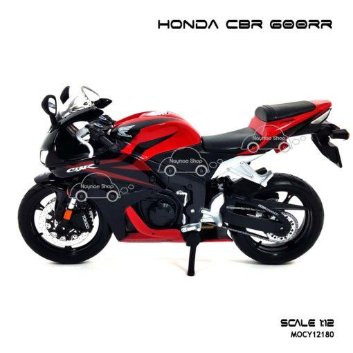 โมเดลบิ๊กไบค์ HONDA CBR 600RR สีแดงดำ (1:12) โมเดลประกอบสำเร็จ