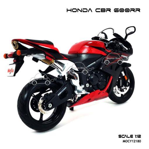 โมเดลบิ๊กไบค์ HONDA CBR 600RR สีแดงดำ (1:12) โมเดล ราคาถูก