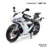 โมเดลบิ๊กไบค์ YAMAHA YZF-R1 สีขาว