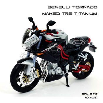 โมเดลมอเตอร์ไซด์ Benelli Tornado Naked Tre Titanium
