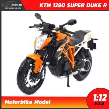 โมเดลมอเตอร์ไซด์ KTM 1290 SUPER DUKE R (Scale 1:12)