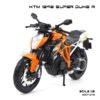 โมเดลมอเตอร์ไซด์ KTM 1290 SUPER DUKE R (1:12)