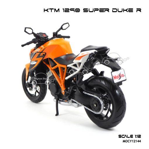โมเดลมอเตอร์ไซด์ KTM 1290 SUPER DUKE R (1:12) โมเดลรถเหมือนจริง