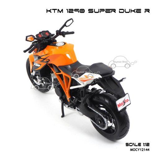 โมเดลมอเตอร์ไซด์ KTM 1290 SUPER DUKE R (1:12) โมเดลของแท้ ผลิตโดย Maisto