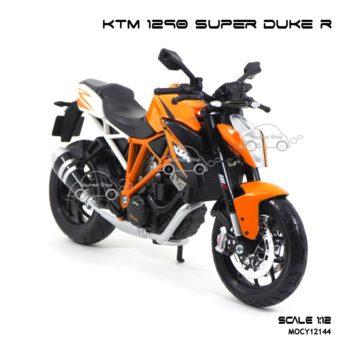 โมเดลมอเตอร์ไซด์ KTM 1290 SUPER DUKE R (1:12) รถโมเดลเหมือนจริง