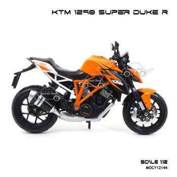 โมเดลมอเตอร์ไซด์ KTM 1290 SUPER DUKE R (1:12) โมเดลบิ๊กไบค์รุ่นขายดี