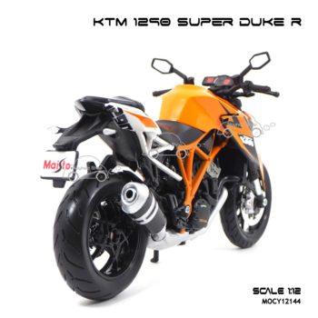 โมเดลมอเตอร์ไซด์ KTM 1290 SUPER DUKE R (1:12) โช๊คอัพกดขึ้นลงได้