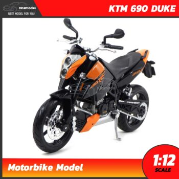 โมเดลมอเตอร์ไซด์ KTM 690 DUKE (Scale 1:12)