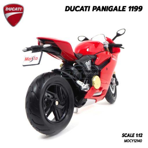 โมเดลรถบิ๊กไบค์ DUCATI PANIGALE 1199 (1:12) โมเดลรถรุ่นขายดี