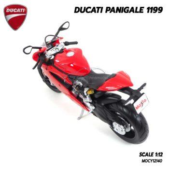 โมเดลรถบิ๊กไบค์ DUCATI PANIGALE 1199 (1:12) โช๊คอัพกดขึ้นลงได้