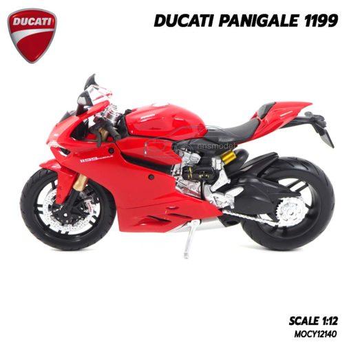 โมเดลรถบิ๊กไบค์ DUCATI PANIGALE 1199 (1:12) ผลิตโดย Maisto