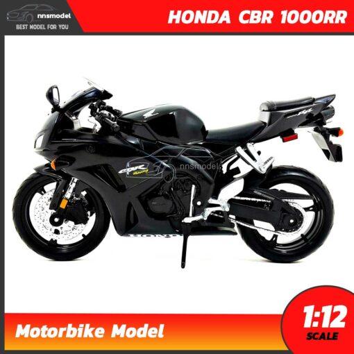 โมเดลรถบิ๊กไบค์ HONDA CBR 1000RR สีดำ (Scale 1:12) โมเดลมอเตอร์ไซด์ จำลองสมจริง Maisto
