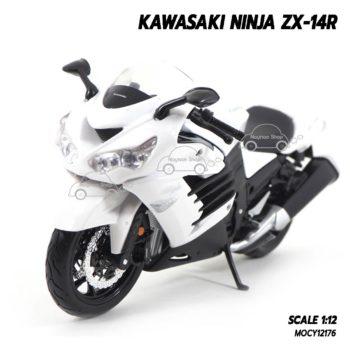 โมเดลรถบิ๊กไบค์ KAWASAKI NINJA ZX-14R (1:12)