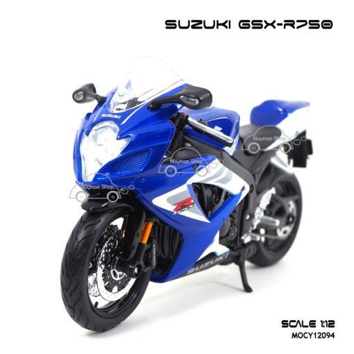 โมเดลรถบิ๊กไบค์ SUZUKI GSX R750 (1:12)
