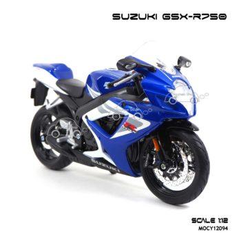 โมเดลรถบิ๊กไบค์ SUZUKI GSX R750 (1:12) โมเดลของแท้