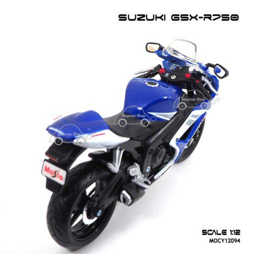 โมเดลรถบิ๊กไบค์ SUZUKI GSX R750 (1:12) โมเดลจำลอง เหมือนรถจริง