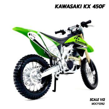 โมเดลรถวิบาก KAWASAKI KX 450F (1:12) โมเดลประกอบสำเร็จ พร้อมตั้งโชว์