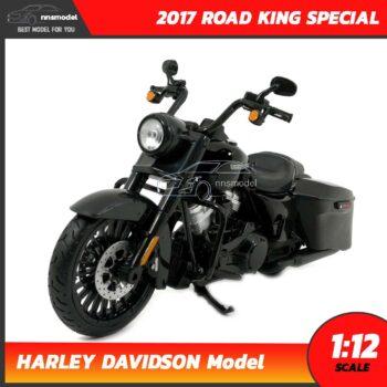 โมเดลฮาเล่ย์ HARLEY DAVIDSON ROAD KING SPECIAL 2017 (1:12)