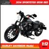 โมเดลฮาเล่ย์ HARLEY DAVIDSON SPORTSTER IRON 883 2014 (1:12)