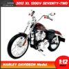 โมเดลฮาเล่ย์ HARLEY DAVIDSON XL 1200V SEVENTY-TWO 2012 (1:12) โมเดลรถสะสม Maisto