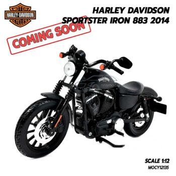 โมเดลฮาเล่ย์ Harley Davidson Iron Sporter 883 (Scale 1:12)