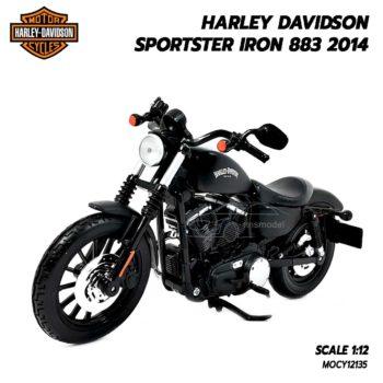 โมเดลฮาเล่ย์ HARLEY SPORTSTER IRON 883 2014 (1:12)
