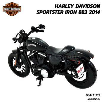 โมเดลฮาเล่ย์ HARLEY SPORTSTER IRON 883 2014 (1:12) โมเดลรถจำลองเหมือนจริง
