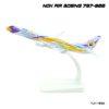 โมเดลเครื่องบิน นกแอร์ NOK AIR Boeing 737-800 สีขาวเหลือง