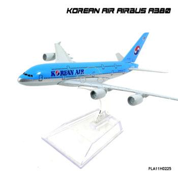 โมเดลเครื่องบิน โดยสาร KOREAN AIR AIRBUS A380 พร้อมฐาน