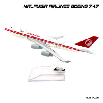 โมเดลเครื่องบิน โดยสาร MALAYSIA AIRLINES Boeing 747
