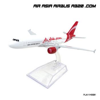 โมเดลเครื่องบิน AIR ASIA AIRBUS A320 .Com ลายสวย