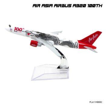 โมเดลเครื่องบิน แอร์เอเชีย AIRBUS A320 100th