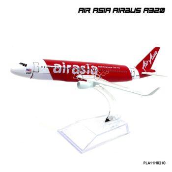 โมเดลเครื่องบิน AIR ASIA AIRBUS A320 Everyone Can Fly ลายสวยเหมือนจริง