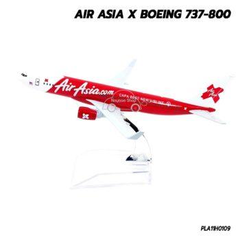 โมเดลเครื่องบิน AIRASIA X Boeing 737-800