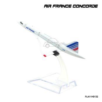โมเดลเครื่องบิน AIR FRANCE CONCORDE พร้อมฐานวางตั้งโชว์
