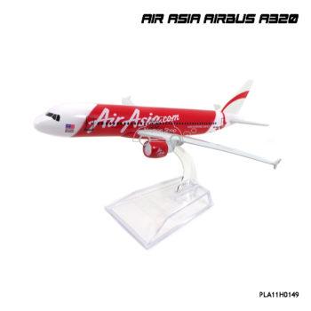 โมเดลเครื่องบิน แอร์เอเชีย AIRBUS A320 รุ่นขายดี