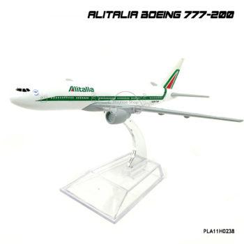 โมเดลเครื่องบิน ALITALIA Boeing 777-200 สวยๆ
