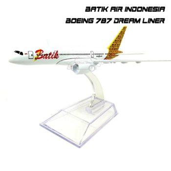 โมเดลเครื่องบิน BATIK AIR Boeing 787 DreamLiner สวยๆ