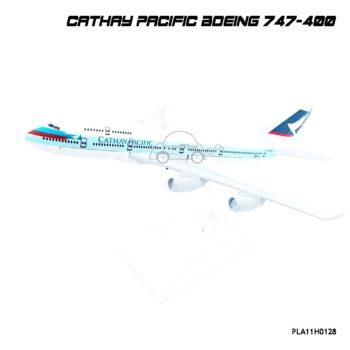 เครื่องบินโมเดล CATHAY PACIFIC Boeing 747-400 ทำจากเหล็ก