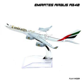 โมเดลเครื่องบิน EMIRATES AIRBUS A340 (16 cm)